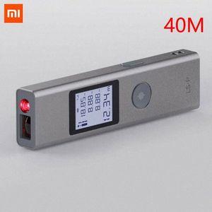 Xaomi Duka 40m Laser Range Finder LS P USB Flash Charging Range Finder High Precision Measurement Rangefinder jCOj#