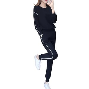 Tyjtjy trajes dois pedaço conjunto xl outono das mulheres e inverno novo 2020 moda sportswear tracksuit mulheres