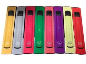 Buffa vape monouso Plus 550mAh Battery Battery 800 Sfuffs 3.2ml 80 Colori Cuffia VAPA VAPE Monouso VAPE VELOCE VELOCE