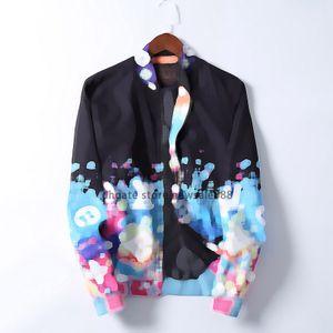 2020 Yeni Moda Marka Ceketler Erkek Kış Sonbahar Slim Fit Erkek Tasarımcı Giysi Kırmızı Erkekler Rahat Ceket Ince Artı Boyutu M-3XL