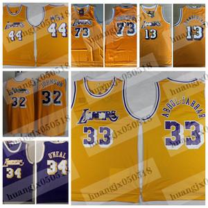 Erkekler Jerry 44 Batı Kareem Abdul-Jabbar Dennis Rodman Wilt Chamberlain Shaquille O'Neal 34 LosAngelesLakersBasketbol forması