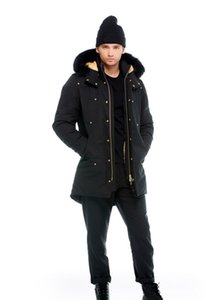 Winter Männer Casual Down Jacke Daunenmäntel Männer Elch Outdoor Outdoor Warmer Mann Winter Mantel Outwear Jacken Parkas Kanada Doudoune