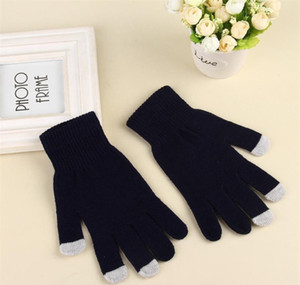 Women's Winter Touchscreen Glove Thermal Magic Gloves Touch Screen Magic Gloves Warm Knitted Full Finger Mittens F bbyMZn insyard