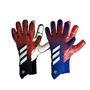 20 Football goalkeeper gloves professional thick wear-resistant adult football goalkeeper latex gloves breathable full latex football gloves