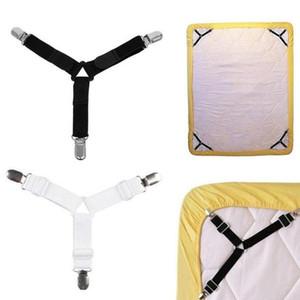 Üçgen Nevresim Klipler sapanlar Tutucu Yatak Örtüsü Köşe Suspender Gömme Sac Fastener Tutucu Pratik Aracı DHC2834 Blanket