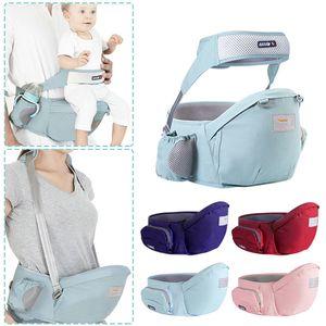 Хлопковая талия стул слинг Bebe Carrier Kids Hip Seat Baby Walkers Bag Front Holder WRA Y0112