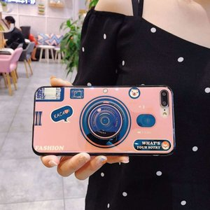mobile Tiktok note9 blue phone camera shell 3D solid support S10 protection sleeve