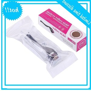 Micro Agulhas 540 Derma Roller Dermaroller Titânio Baard Baard Crescimento Anti Hair Insuficiência Treino Dunner Retirado