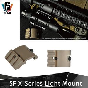 Silah Airsoft Fener Dağı İçin Surefir X300 X300U X400 X400U Taktik İzci Işık Dağı İçin Picatinny Raylı