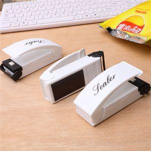 Tasche Heat Sealer Mini Heißsiegelmaschine Packung Plastiktüte Impuls Sealer Seal Tragbare Reise Handdruck Lebensmittelschoner RRA3760