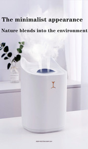 K7 new cute pet fog humidifier USB charging aromatherapy water home office air double spray living room ultrasonic silent air purificationDH