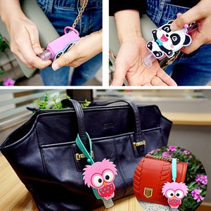 corona 30ML Cartoon Animal Shaped Bath Cute Creative Silicone Portable Hand Soap Hand Sanitizer Holder With Empty Bottle