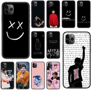 An addrs of Louis Tomlinson mobile phone case is vip 4 4S 5 5S se 5C 6S 6 7 8 plus x 11 Pro Max 2020 black soft cover