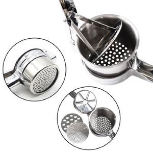 Venda quente três em um manual de batata de aço inoxidável manual juicer cozinha criativa gadgets spot atacado dwf4544