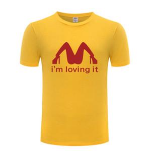 I 'm Amare IT Sexy T Shirt Uomo Divertente Umorismo Joke Rude Summer Cotton Manica corta T -Shirt Tshirt TSHIRT Dimensione S-3XL