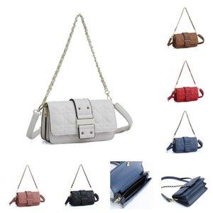 wholesale Popular ladies fashion shoulder bag designer classic female messenger bag female handbag woman chain bag size 22*8*12 CM white