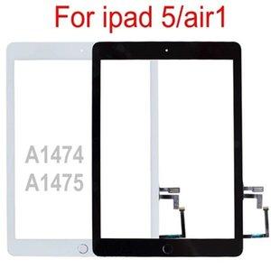لأجهزة iPad 1 iPad 5 LCD شاشة تعمل باللمس الخارجي محول الأرقام الجبهة عرض الزجاج لوحة استبدال A1474 A1475 A1476