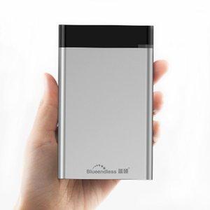 Tip C1TB Taşınabilir Harici Sabit Sürücü Disk Harici 2TB HDD 2.5 1TB Sabit Sürücü 1 ila 1 TB USB 3.1 HDD Depolama Cihazı1