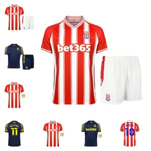 2020 Новый Сток-Сити Футбол Джерси 22 Clucas 26 Campbell 11 McClean 19 Gregory 9 Vokes 25 Powell 14 Smith Men + Kids Kit Футбольная рубашка