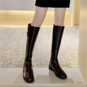 COOTELILI Winter Women Boots Patent Leather 3cm Heel Keep Warm Zip Fashion Boots For Woman Women Shoes Basic Botas 35-40