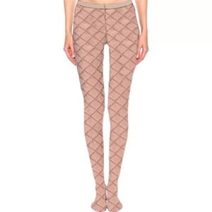 겨울 다리 따뜻한 여성 스타킹 양말 전체 편지 인쇄 Womens Stockings 통기성 아가씨 섹시한 팬티 스타킹 스타킹
