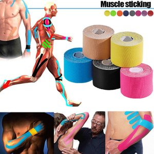 Multifunction 5M Waterproof Sports Elastic Kinesiology Tape Roll Physio Muscle Strain Care Bandage Support Tool B2Cshop