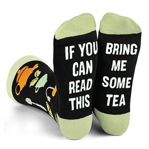 """If You Can Read This"" Fun Message Socks -Stocking Stuffier Gifts For Men & Women 