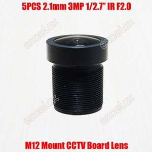 Lens 5PCS Lot 3MP 1 2.7