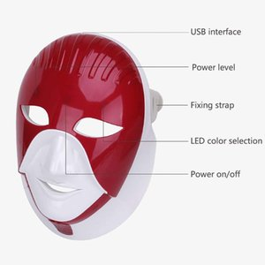 2020 NEW home&ampsalon use four colours Light Photon skin whitening facial rejuvenation multifunction pdt led mask