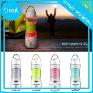 Portable LED Light Smart Bottles Tracks Intake Glows to Remind Drinking Night Lamp Emergency Sport Water Replenishing Cups