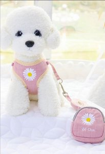 New embroidered dog leash for pet supplies