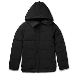 2021-2022 SICAK YENİ Erkekler Marka Avrupa Boyutu% 90 Katı Renk Parker Coat Aşağı Ceket Erkek Doğa Sporları Soğuk Aşağı Ceket doudoune Isınma