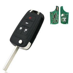 4 Button Remote Control Car Key 315MHz ID46 Chip for Cruze 2011-2014