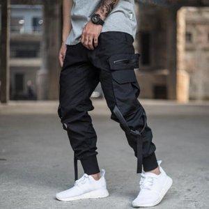 April Momo Hombres Multi-Poller Harem Pantalones Pantalones Hombres Streetwear Punk Cargo Pantalón Hip Hop Pantalones Casuales Joggers Hombre Y200115