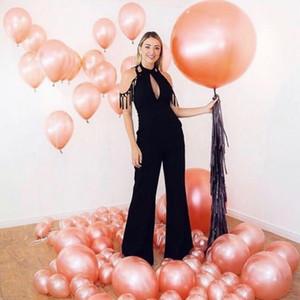 Rose golden Latex Balloon Wedding Birthday Party Suppliese Balloon Arch chain Big Round Ball Home Decoration