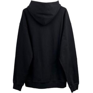 Black Cotton Mode Hoodies Herren Sweatshirts Frauen Winter Herbst Hoodies Mäntel Street Wear Plus Size S-5XL Paare Sport Männer Hoodies