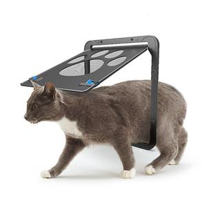 Pet Supplies Paw Shape Print Anti-bite Small Doggie Dogs Cat Door For Window Screen Cat Furniture Scratchers RRA1738