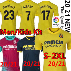 2021 Villarreal CF S.CAZORLA maglie calcio CHUKWUEZE FORNALS Football Shirt uniformi PEDRAZA MORENO Ekambi IBORRA Camiseta de Fútbol