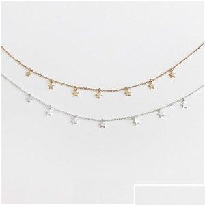 Fashion Long Necklaces 2018 Summer New Bohemia Style Gold Silver Color Star Moon Necklace Women Boho Pendants bbyoGS bde_home