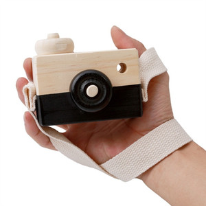 Wooden Toy Camera Baby Kids Hanging Camera Photography Prop Decoration Children Educational Toy Christmas Gifts Birthday 19 p2