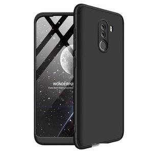 3 in 1 Dual Armor Three in One Design 360 Full Coverage Protection Hard PC Case for Pocophone F1