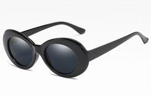 Eastway Rodada Retro Sunglasses Plastic Mulheres Fashion Designer Big Quadro Goggles UV400 Óculos Eastway Retro bbyVSo alice_bag