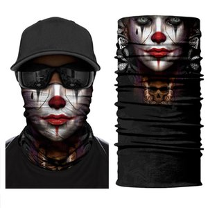 Protective Mouth Mask Bandanas The Day of Dead Face Shield Funny Headband Cycling Neck Gaiter Mascarillas Braga Cuello Women Men