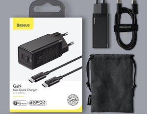 BASEUS GAN 45W USB 충전기 iPhone 12 삼성 Xiaomi 휴대 전화 빠른 충전 4.0 3.0 QC SCP 빠른 충전기 PD USB 유형 C 충전기