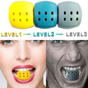 3 niveles Jawline Ejercicio Jaw Line Terciation Fitness Ball Cuello Face Toning Jawrsize Jaw Muscle Training Supplies