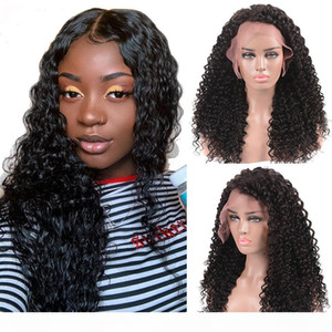 laurinda Deep Wave Short Bob Wigs For Black Women Brazilian Bob Lace Wigs Pre Plucked Deep Human Hair Wig and send you a free n95 mask