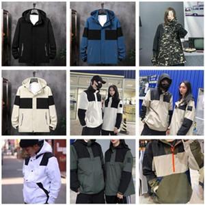 Мужчины куртка ветровка на молнии Толстовки Лоскутное пальто вскользь Верхняя одежда Street Sports работает Jogger пару куртки 9 цветов S-XXL
