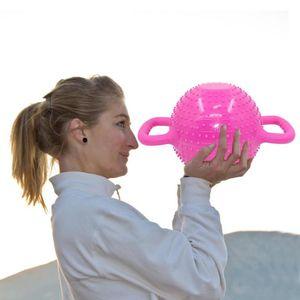 Hot Sale Massage Kettle Bell Wear-resistant Women Pilates Massage Water Dumbbell Yoga Injection Kettle Bell Sports Equipment