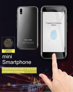 New Super Mini Original Melrose S9 PLUS 4G Lte Smallest Smartphone 32GB 3.4'' MTK6739 QuadCore Android 8.1 Fingerprint ID Student Cellphone