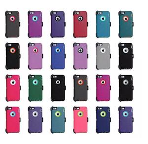 3 en 1 Armadura para el iPhone 12 12 11 Pro Hybrid Pro Max X XR XS Max a prueba de golpes Defender pesada Protección Deber caso Cover + clip de la correa